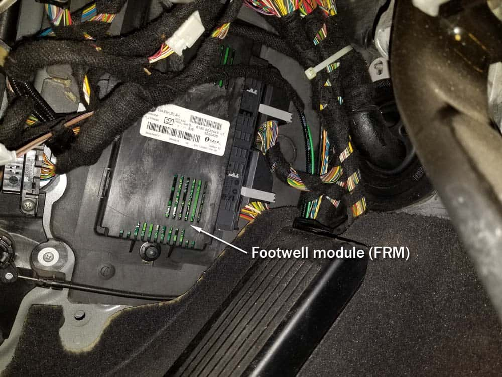 The BMW footwell module