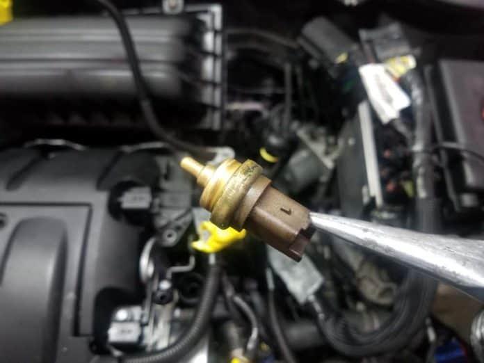For BMW E60 E63 E64 Lower Radiator Hose w// Temperature Sensor Fitting Genuine