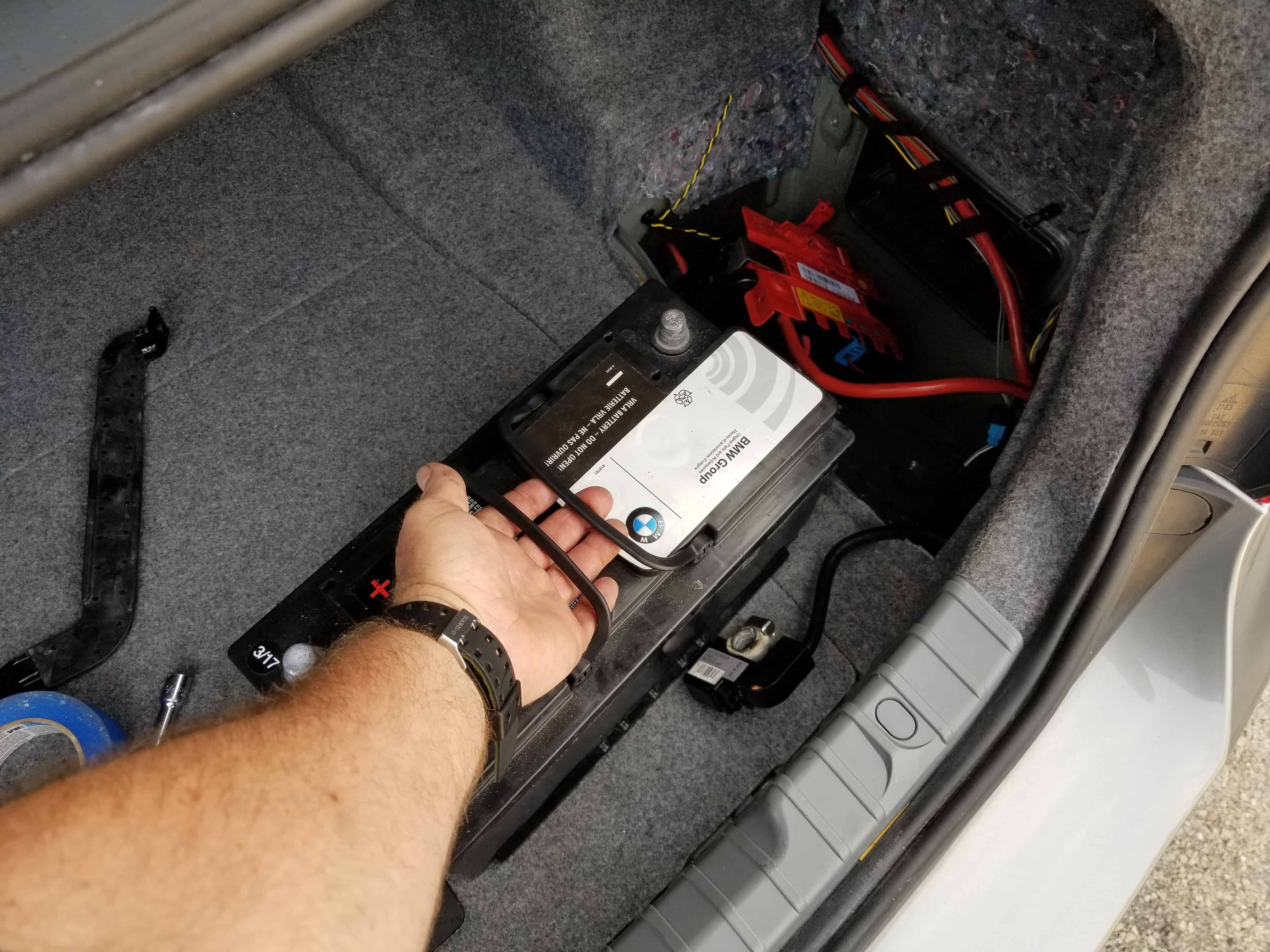 BMW E90 Battery Replacement - 2007-2013 3 Series - All ModelsBMW Repair Guide