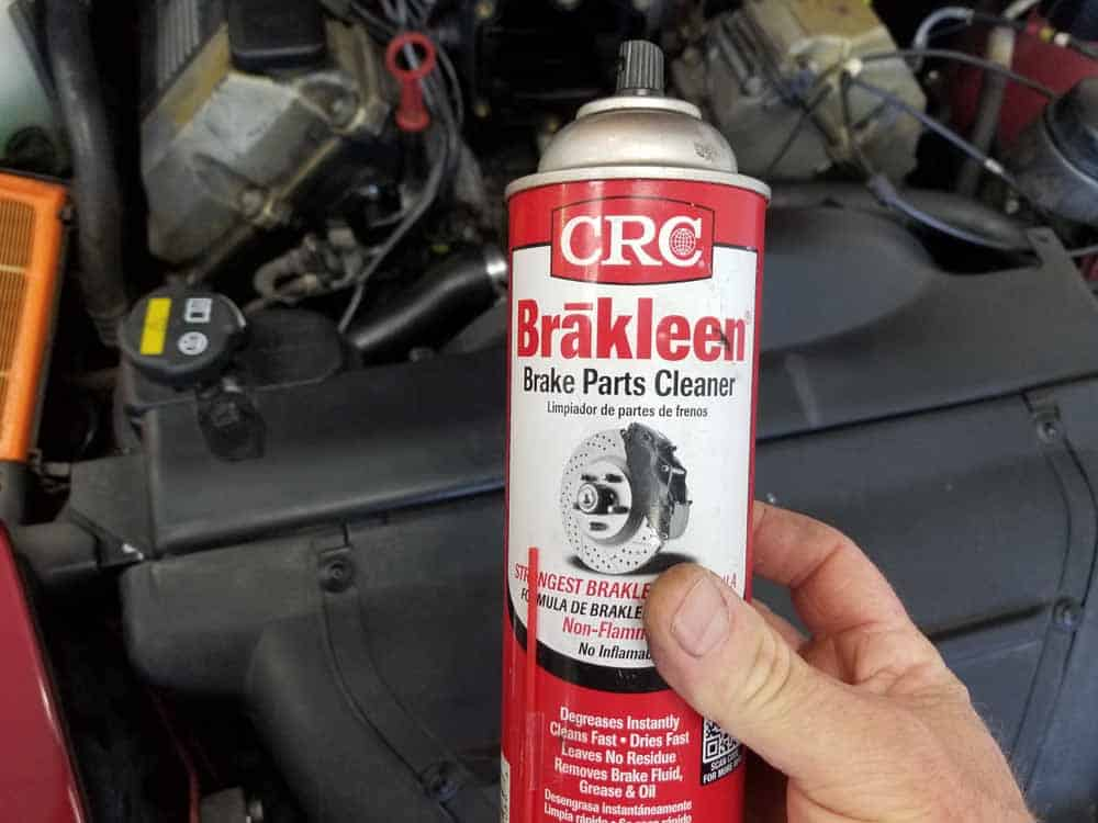 bmw M60 throttle body gasket replacement - CRC Brakleen. Use it to clean both the manifold and the the throttle body.