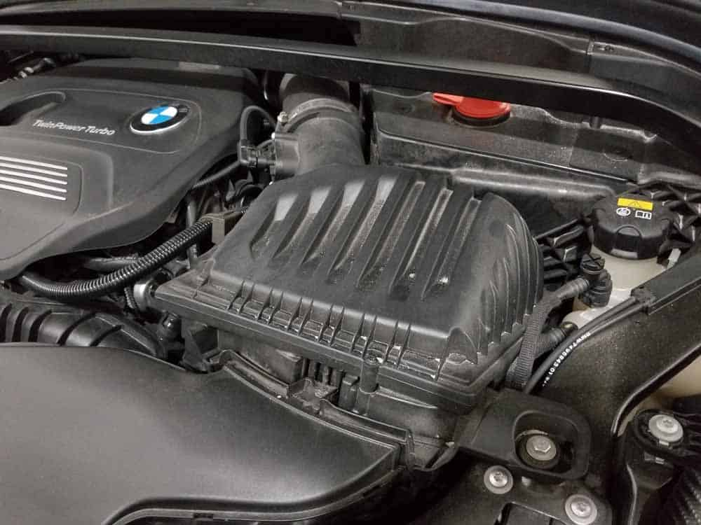 bmw x2 air filter replacement - The intake muffler
