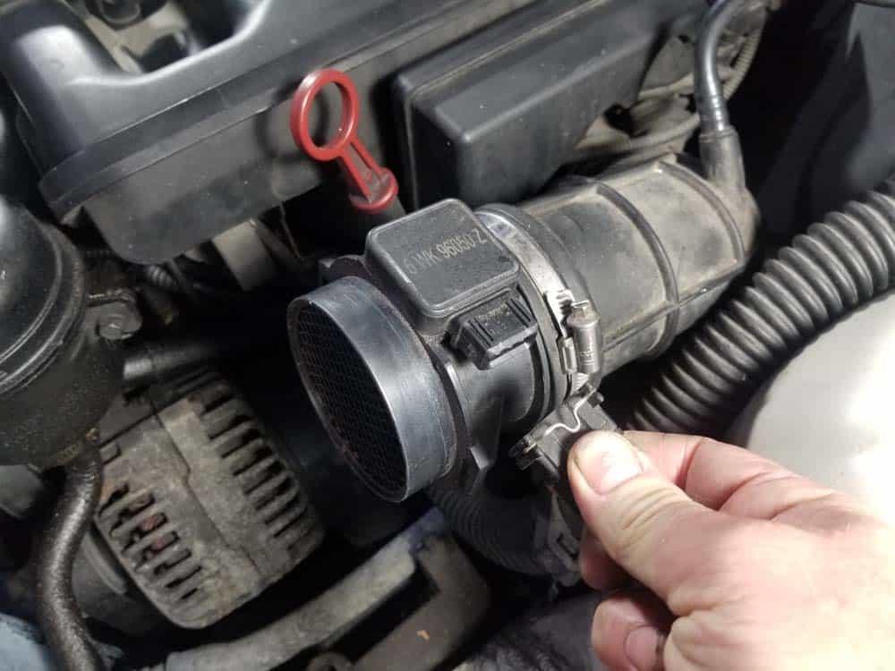 bmw m52 intake manifold removal - Unplug the MAF sensor