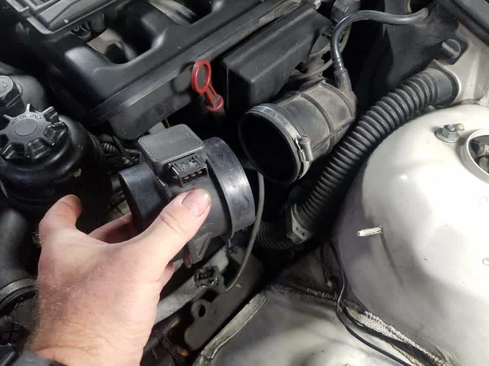 Remove the MAF from the intake boot