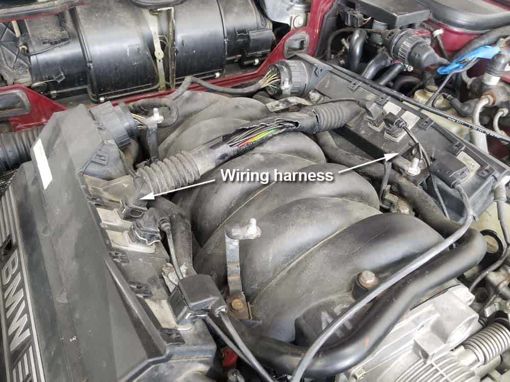 "bmw m60 intake manifold gasket replacement - The M60 V8's main engine wiring harness...also known as the ""loom""."
