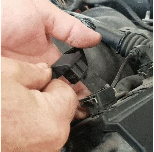 bmw m60 pcv valve replacement - Unplug the left side wiring harness connections