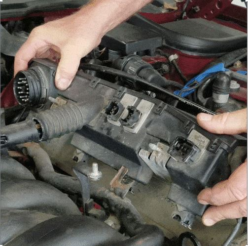 bmw m60 intake manifold gasket replacement - Pull the left wiring harness free from the intake manifold