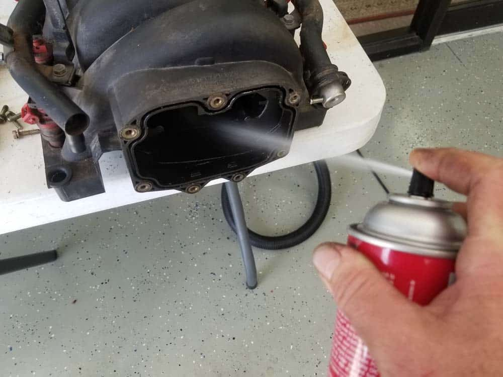 bmw m60 pcv valve replacement - Liberally spray CRC Clean-R-Carb into the intake manifold