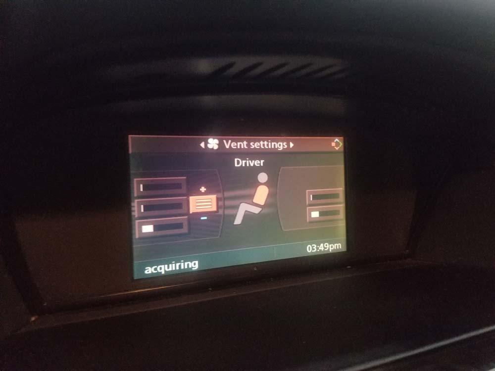 bmw e60 coolant flush - Set the iDrive temperature setting to full heat