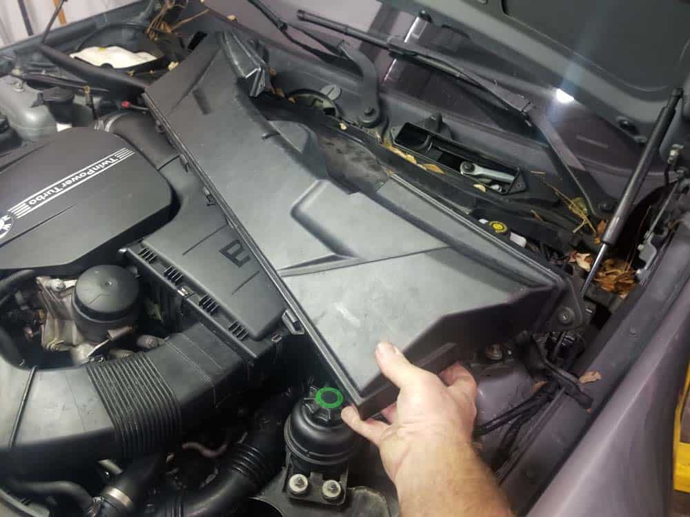 bmw n55 starter replacement - Remove the upper microfilter housing from the vehicle