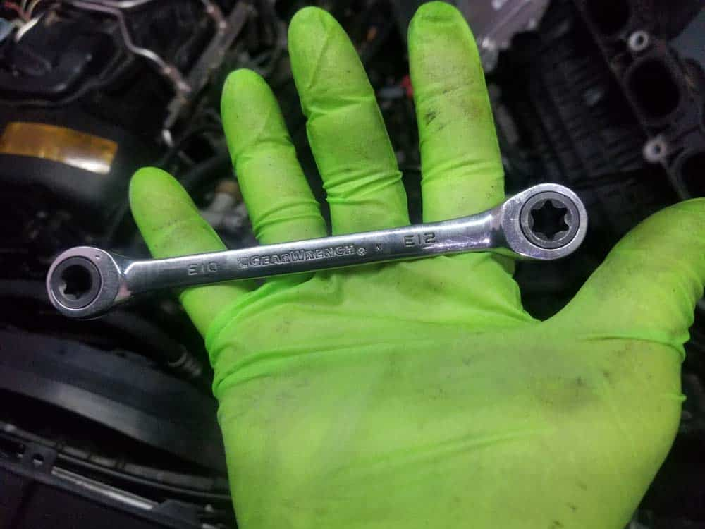 bmw n55 starter replacement - Ratcheting E12 box wrench