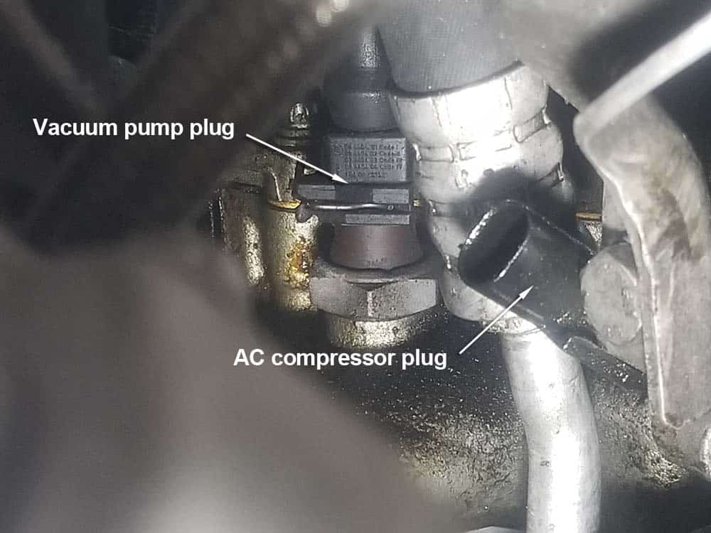 The vacuum pump plug