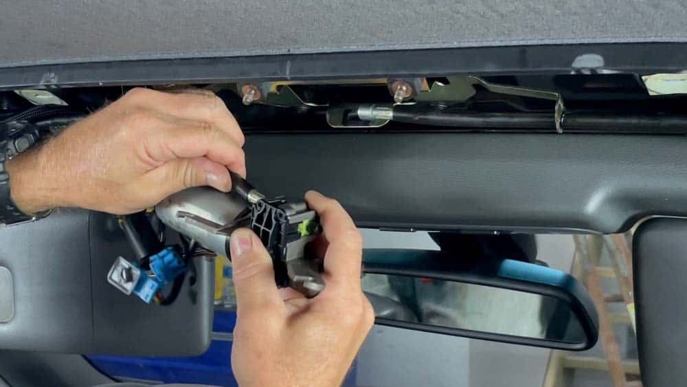 Remove the flexible drive shafts