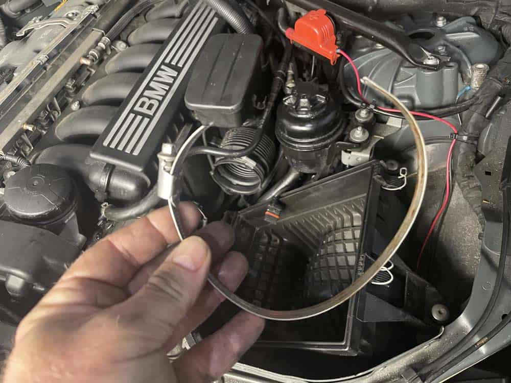 rough idle diagnoses and repair - Broken hose clamp was the cause of our vacuum leak
