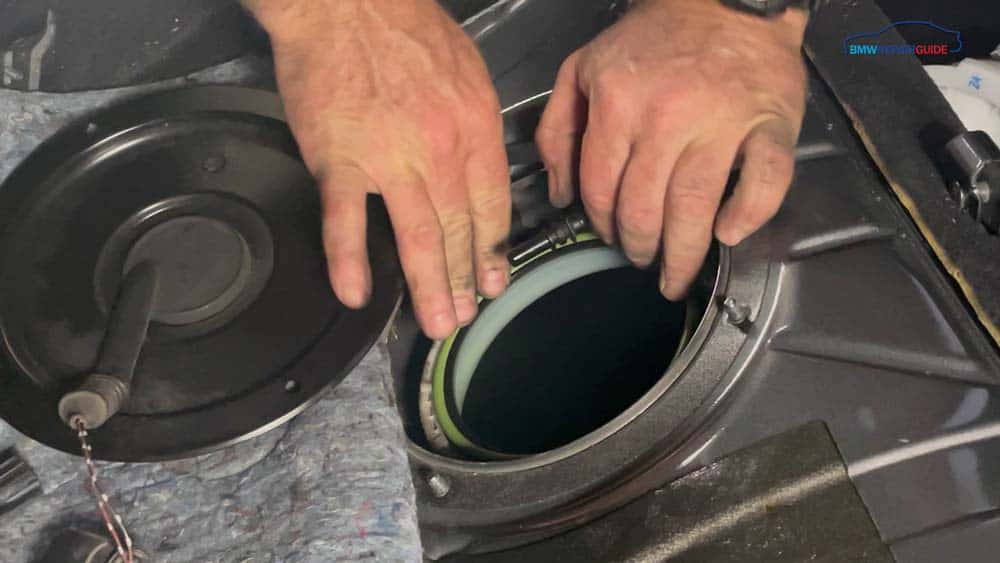 Install new sealing gaskets