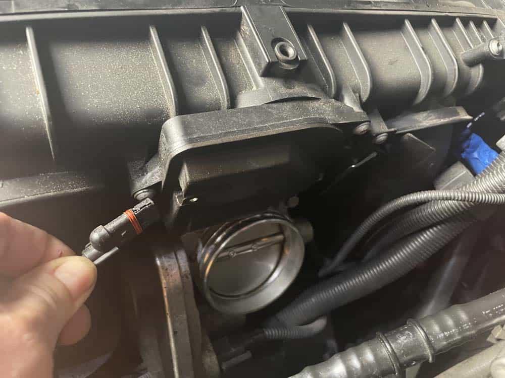 Unplug the DISA valve