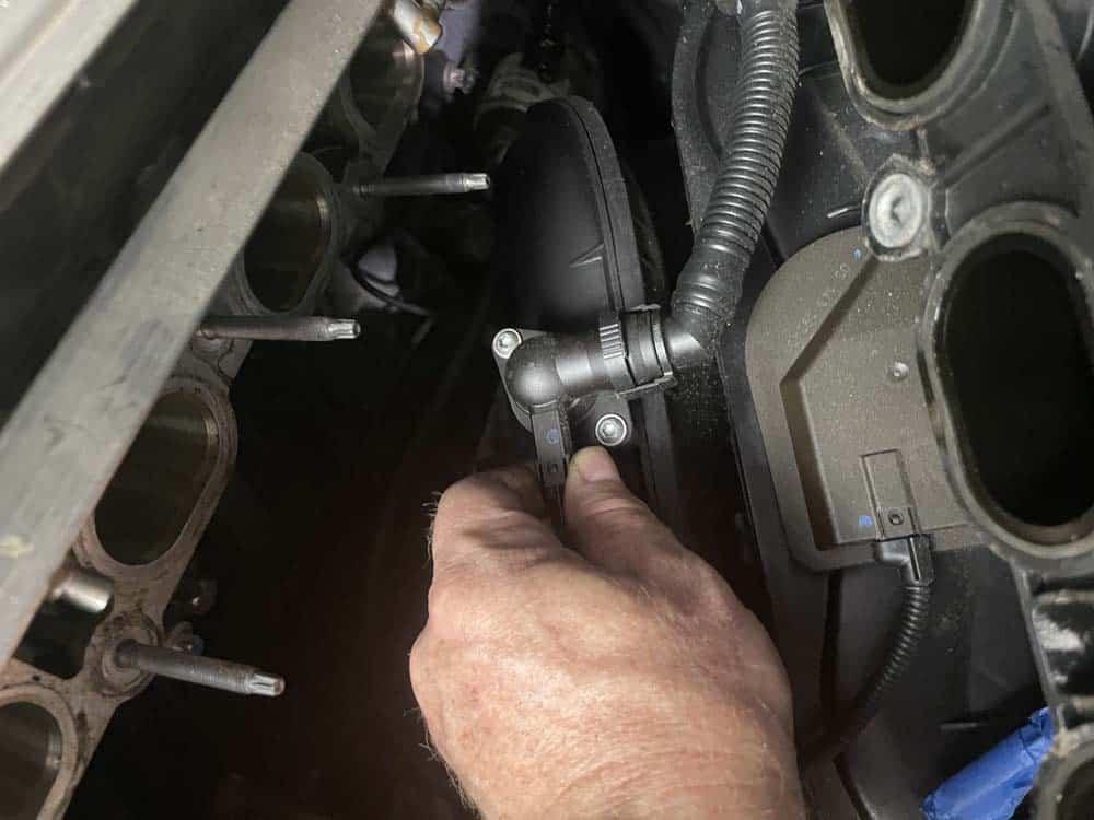 Unplug the PCV valve heating element