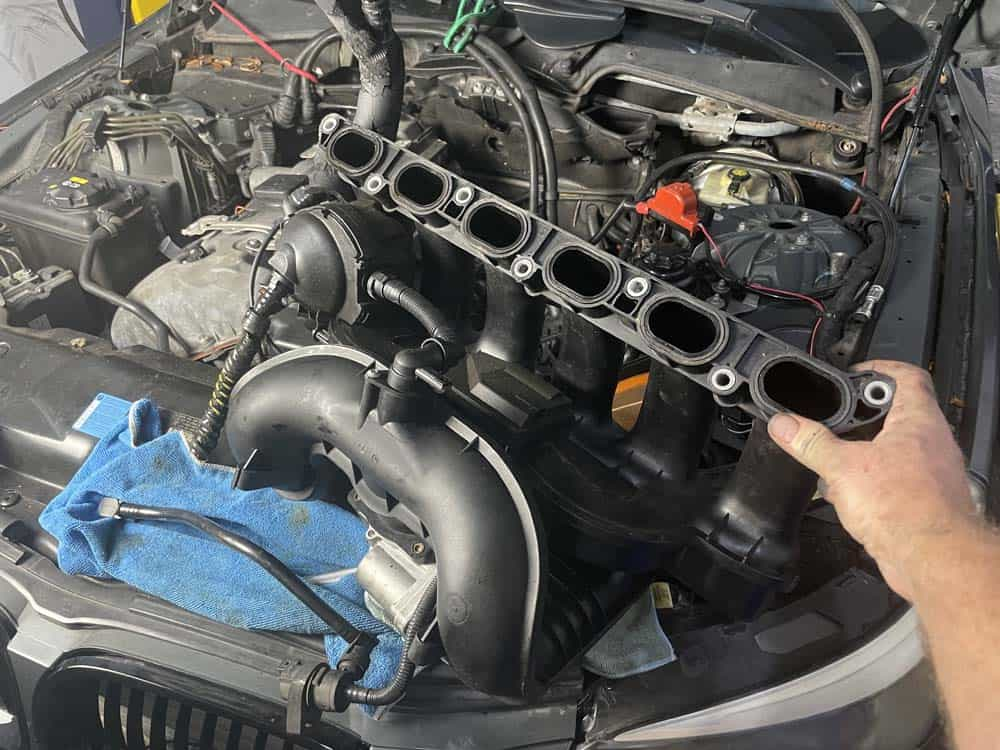Remove the intake manifold from the vehicle